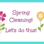 Spring Cleaning –